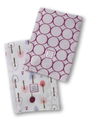 SwaddleDesigns Burpies Cotton Cloths Circles product image