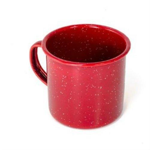 GSI Red Enamel Cup 12 Oz