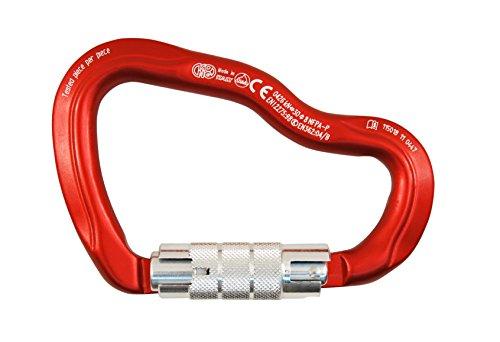 Kong Ferrata - Body Red, Gate Polished, Twist Lock ()