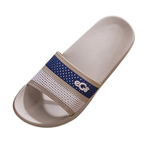 YUENA Slippers House Shower Lightweight 8 Slipper CARE Sandals Indoor Unisex Floor Slip Non RB4w18Rqr
