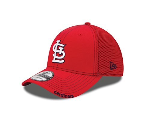 MLB St. Louis Cardinals Neo Fitted Baseball Cap, Scarlet, Medium/Large