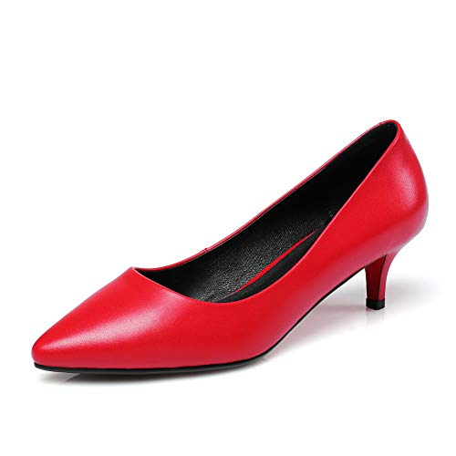 5 AdeeSu Red Rouge Compensées EU Sandales 36 SDC06045 Femme zTfzR60q