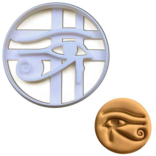 Eye of Horus cookie cutter, 1 pc, Ideal for ancient Egyptian themed party -