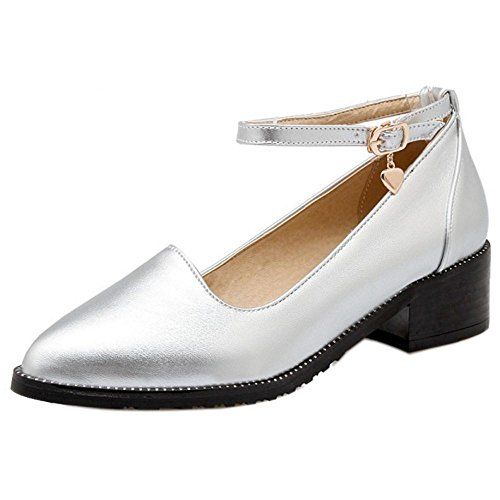 Fashion Court 2 Zanpa Women Silver Shoes qwS5Up8C