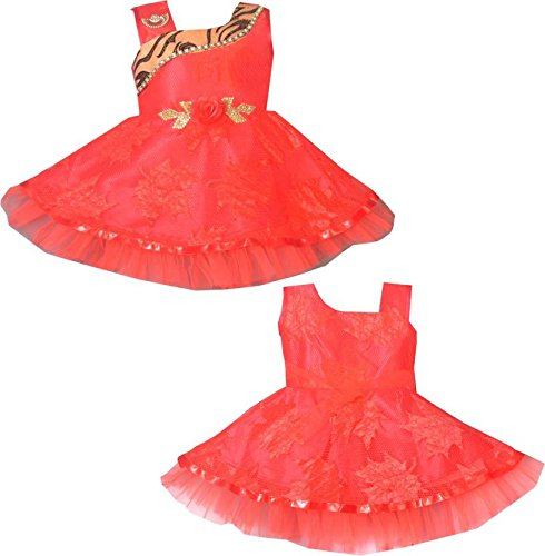 a82967637 Apna Baby Dresses Girls Frock Dress Party Frock for Kids Multicolour ...
