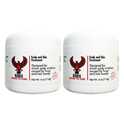 KitiKiti Scalp and Skin Treatment 4oz Jar (2 Pack)
