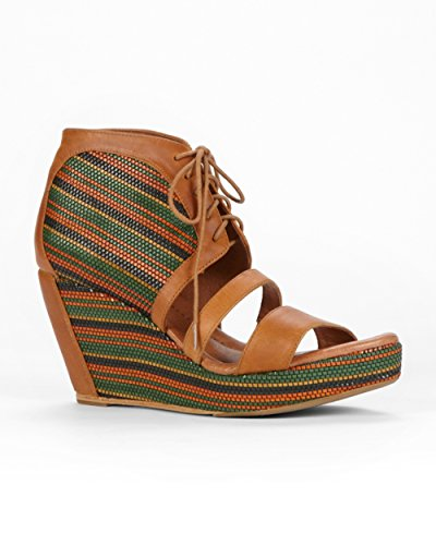 80%20 Womens Erie Wedge Sandal, Autumn