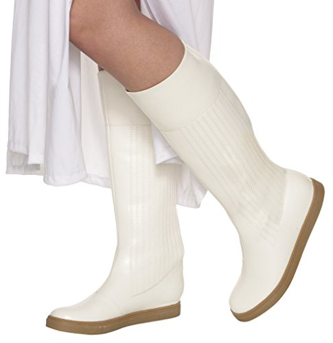Princess Leia Shoes (Women's Star Wars Classic Princess Leia Boots, Multi, Large)