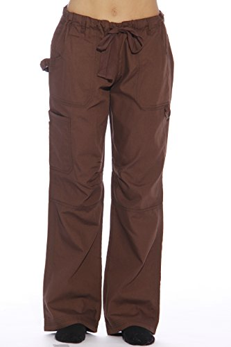 24000PCHO-XS Just Love Women's Utility Scrub Pants / Scrubs, Chocolate Utility, X-Small
