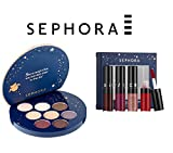 SEPHORA COLLECTION Enchanted Sky Eyeshadow Palette and Mini Cream Lip Stain Set