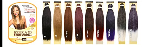 MULTI PACK DEALS! Oh Yes Hair Synthetic Hair Braids Ez Braids Professional 28'' (6-PACK, 1B) by Oh Yes (Image #5)