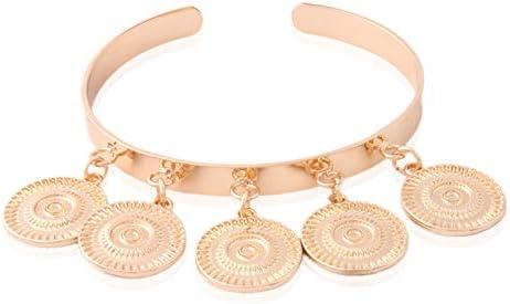 RQWY Pulseras Pulseras Cobre Coral Brazaletes Pendiente Abierta Concha Nacional Perlas de Agua Dulce Pulsera Jewelryft