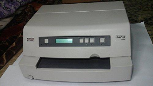 - Wincor Nixdorf High Print 4915xe Passbook Printer
