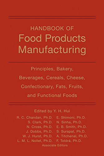 Handbook of Food Products Manufacturing: Principles, Bakery, Beverages, Cereals, Cheese, Confectionary, Fats, Fruits, an