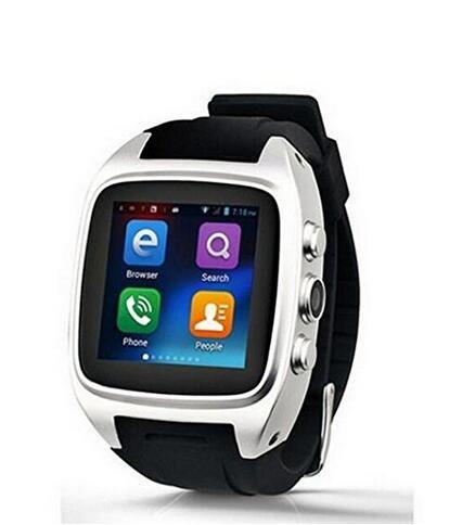 X02 - Soporte de Bluetooth inteligente reloj 1.54 pulgadas MTK6572 ...