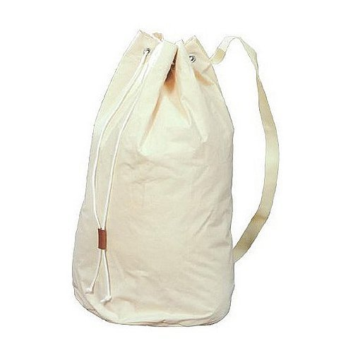 Laundry Bag Backpack (Canvas Duffle Bag - Extra Heavy Duty 28