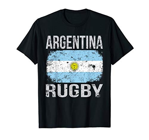 - Argentina Rugby, Argentine Flag T-Shirt