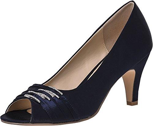 LEXUS - Zapatos de vestir para mujer azul marino
