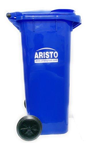 Aristo Wheel Garbage Waste Dustbin 120 Ltr (Blue) 2