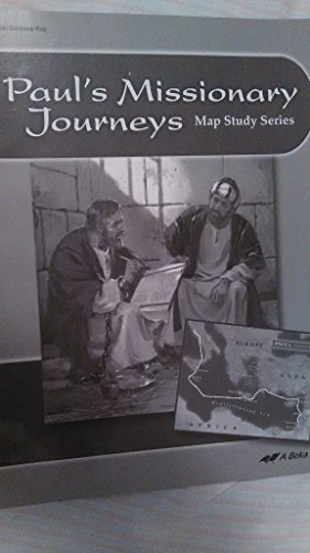 Paul's Missionary Journeys Map study series 7 Tests/Quizzes Key