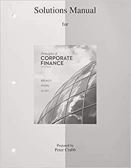 Solutions manual to accompany principles of corporate finance turn on 1 click ordering for this browser fandeluxe Gallery