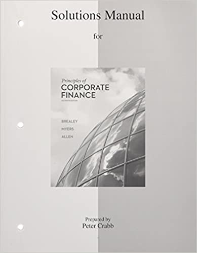 Amazon solutions manual to accompany principles of corporate solutions manual to accompany principles of corporate finance 11th edition fandeluxe Choice Image