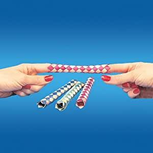 1 X Chinese Finger Traps (144 per package), Assorted Colors