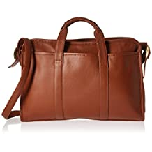 RYC631TAN3 - Royce Leather Soft-Sided Briefcase