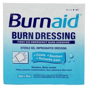 Rye Pharmaceuticals Llc Burnaid Pain Relieving Gel Dressings - 4