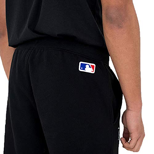 Uomo Black Pantaloni Sportivi Era York New Yankees Ftqzxy