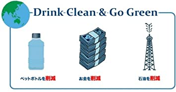 Clear2GO Water Bottle with Filter