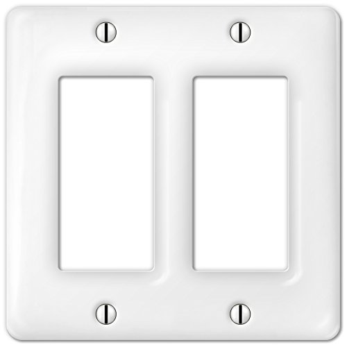 3020rrw Allena Wh Ceramic 2r (Ceramic Wall Switchplate)