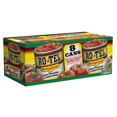 10 can tomatoes - 9
