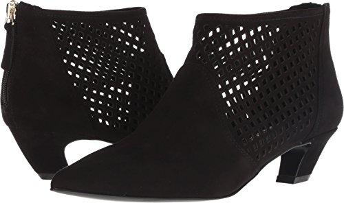 Nine West Women's YOVACTIS Suede Ankle Boot Black 11 M US