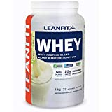 LeanFit 100% Whey Protein, Natural Vanilla, 1 Kg