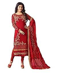 ziya Heavy Embroidered Designer Straight Salwar Kameez SIMER 18009