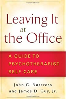 leaving it at the office a guide to psychotherapist self care - True Colors Book