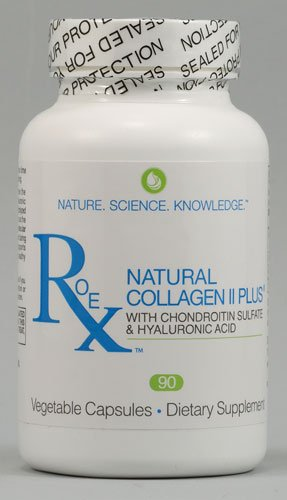 Roex Natural Collagen II Plus -- 90 Vegetable Capsules - 3PC by Roex