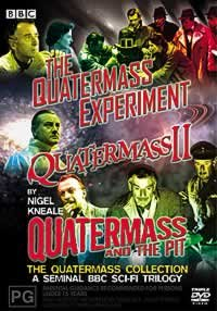 Quatermass Trilogy Collection   1950S Series   3 Dvd Set   Quatermass And The Pit   Quaretmass Ii   Quatermass Experiment     Quatermass   The Pit   Quatermass 2   Quatermass Xperi   Non Usa Format  Pal  Reg 2 4 Import   Australia