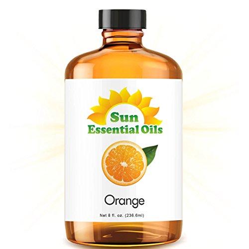 - Sweet Orange (Huge 8oz) Best Essential Oil