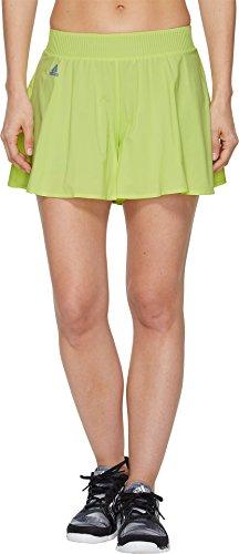 adidas Women's Melbourne Hosenrock Shorts Semi Frozen Yellow Small