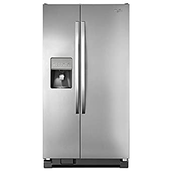 kenmore 50023. kenmore 50023 25 cu. ft. side-by-side refrigerator - stainless steel