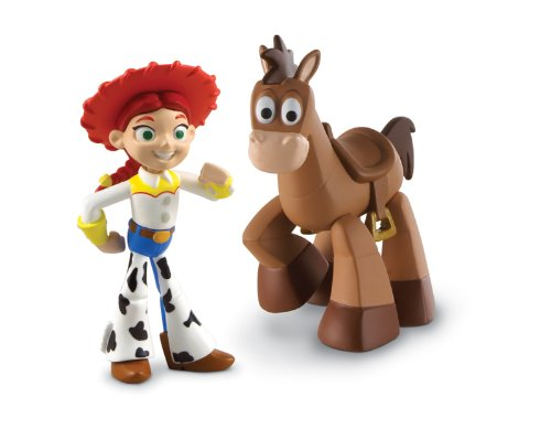 Disney / Pixar Toy Story 3 Action Links Mini Figure Buddy 2Pack Jessie Bullseye