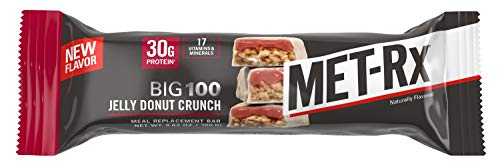Image result for Met-Rx Big 100 Colossal bar jelly donut