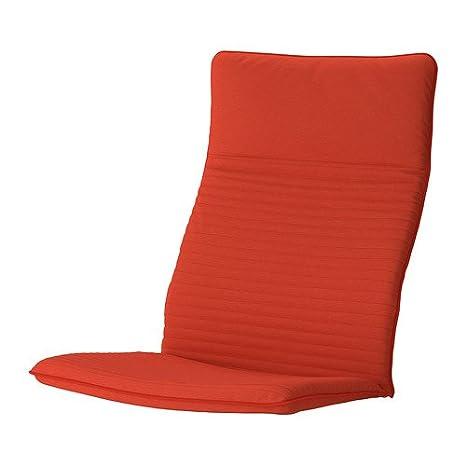 IKEA POANG sillón cojín, Ransta rojo cojín (solo): Amazon.es ...