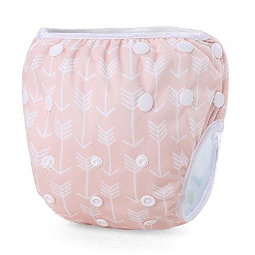 Storeofbaby Baby Washable Swim Diaper Stylish Swimwear for Infant Toddler 0 3 Years