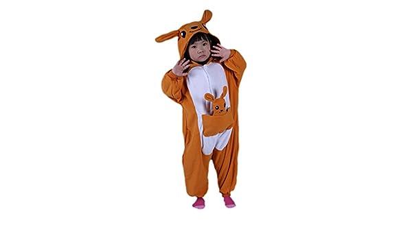 8860040176 Canguro Cosplay Animales Pijamas Enteros Niño Niña Invierno Novedad Navidad  Traje Disfraz  Amazon.es