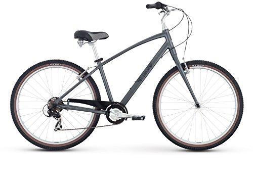 Cheap Raleigh Bikes Circa 1 Comfort Bike, 19″/Large, Silver