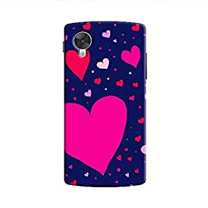 Cover It Up Flying Love Hard Case for Nexus 5 - Multi Color