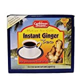 Caribbean Dreams Instant Ginger Tea Un-Sweetened 14 Sachets(pack of 12) 12